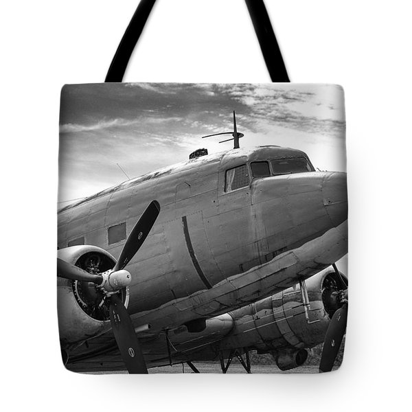 C-47 Skytrain Tote Bag by Guy Whiteley