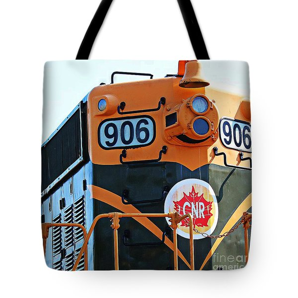 C N R Train 906 Tote Bag