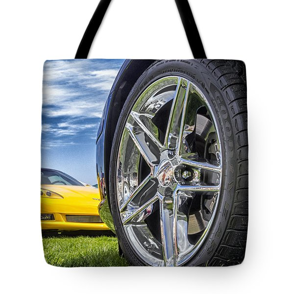C Sixes Tote Bag by Gary Warnimont