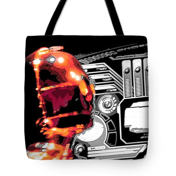C3po Tote Bag by J Anthony