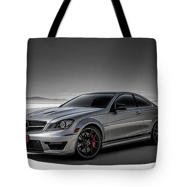 C63 Amg Tote Bag