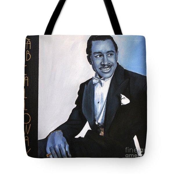 Cab Calloway Tote Bag by Chelle Brantley