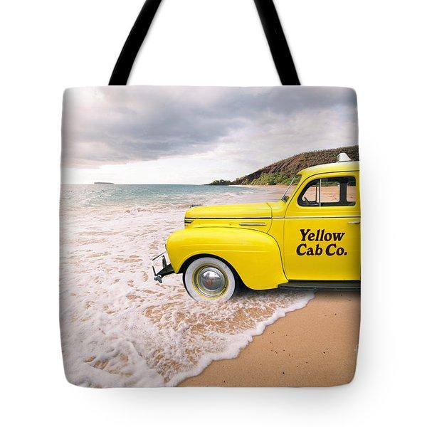 Cab Fare To Maui Tote Bag