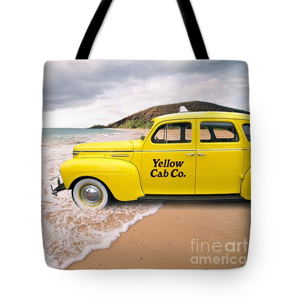 Cab Fare To Maui Tote Bag by Edward Fielding