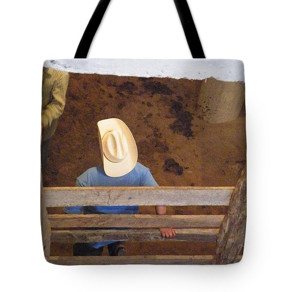 Tote Bag featuring the photograph Caballero by Brian Boyle