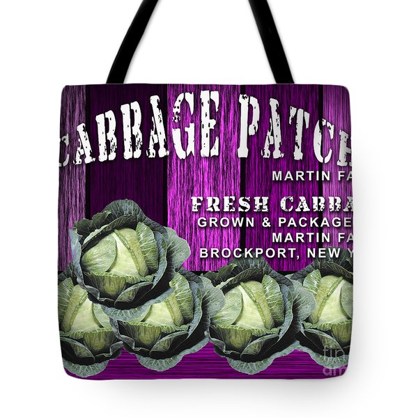 Cabbage Patch Farm Tote Bag by Marvin Blaine