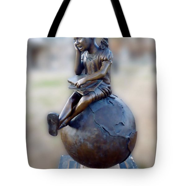 Tote Bag featuring the photograph Cabin Fever Sculpture by Pete Trenholm