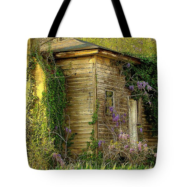 Cabin In The Back Tote Bag