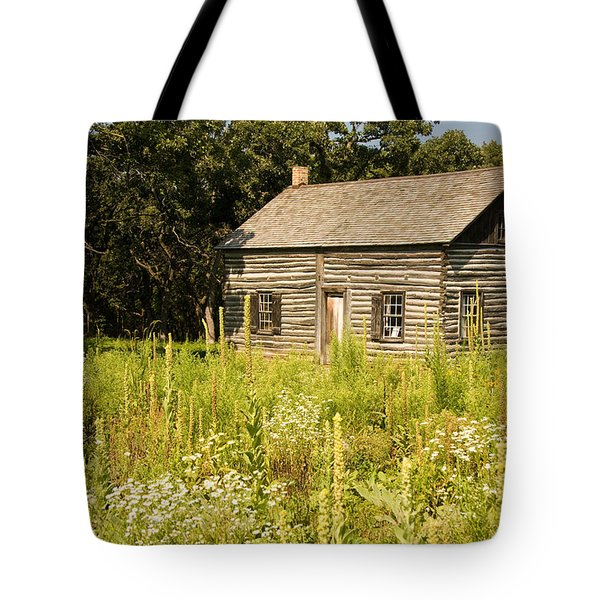 Cabin In The Prairie Tote Bag