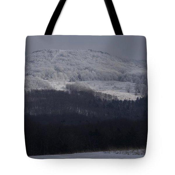 Cabin Mountain Tote Bag