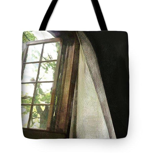 Cabin Window Tote Bag