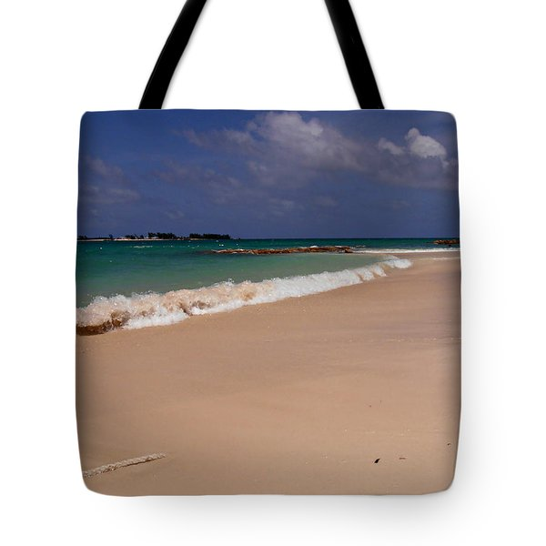 Cable Beach Bahamas Tote Bag by Kimberly Perry