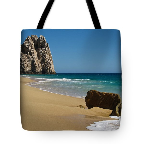 Tote Bag featuring the photograph Cabo San Lucas Beach 1 by Shane Kelly