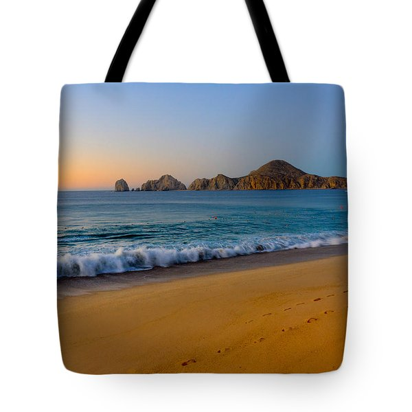 Cabo San Lucas Morning Tote Bag by Mark Goodman