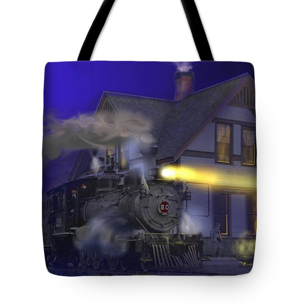 Caboose Hop At Dolores Colorado Tote Bag