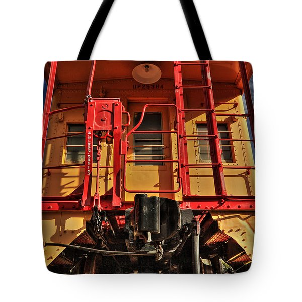 Caboose Tote Bag by James Eddy