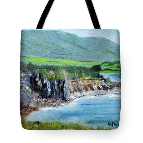 Cabot Trail Coastline Tote Bag