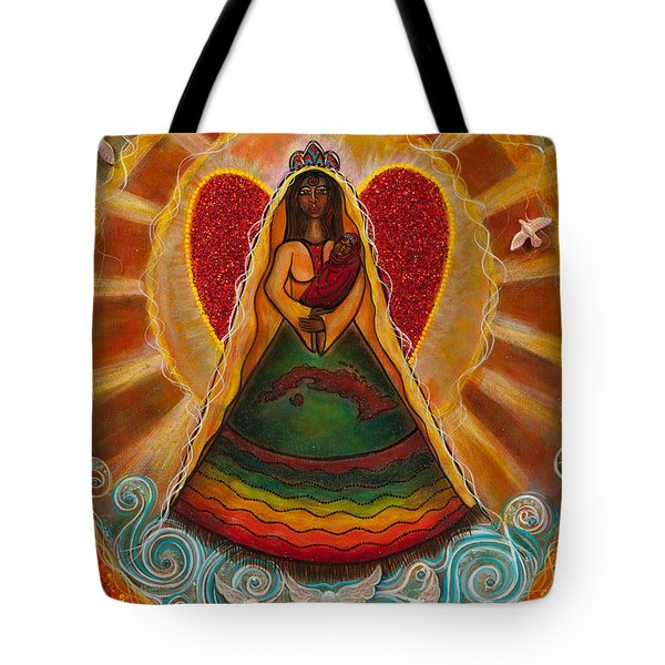 Cachita Madonna Tote Bag by Deborha Kerr