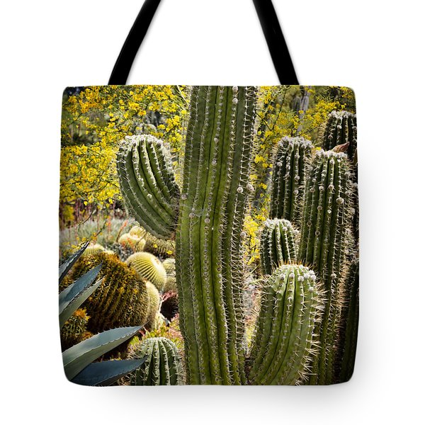 Cacti Habitat Tote Bag by Kelley King