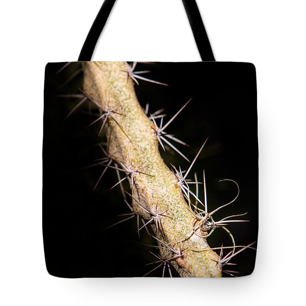 Cactus Branch Tote Bag
