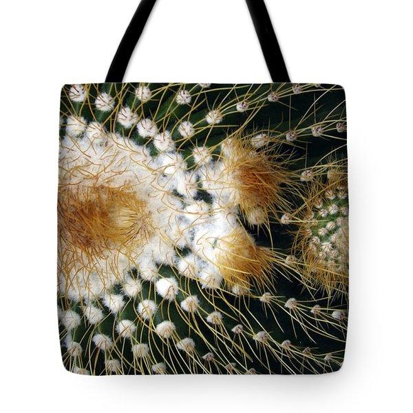 Cactus Close-up Tote Bag
