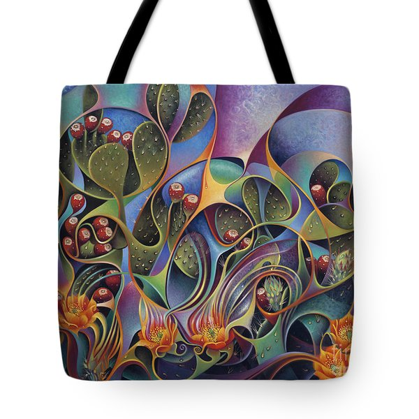 Cactus Dinamicus 3d Tote Bag