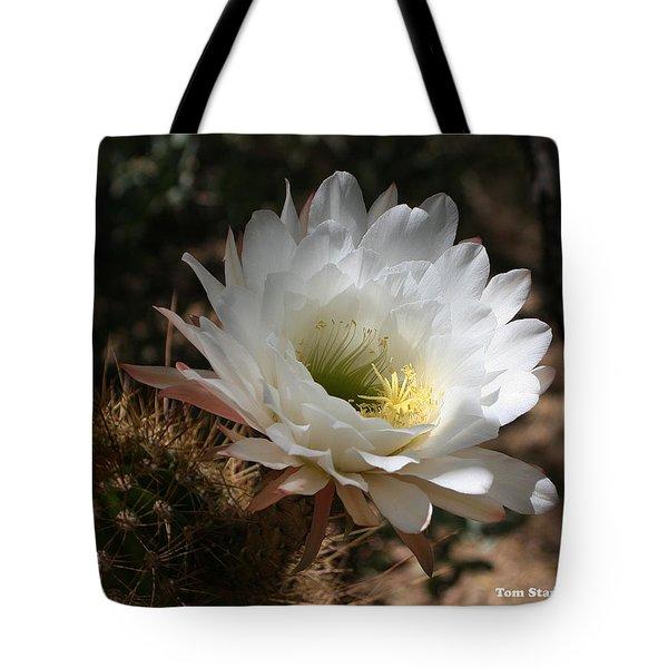 Cactus Flower Full Bloom Tote Bag