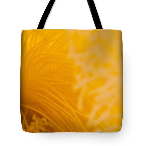 Cactus Flower Stamens Tote Bag