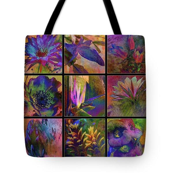 Cactus Flowers Tote Bag by Barbara Berney