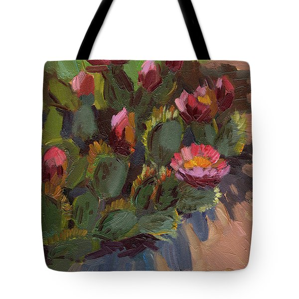 Cactus In Bloom 2 Tote Bag