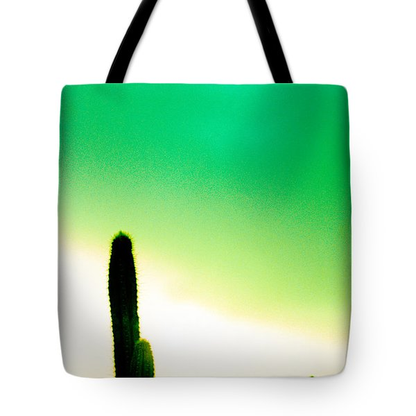 Cactus In The Morning Tote Bag by Yo Pedro