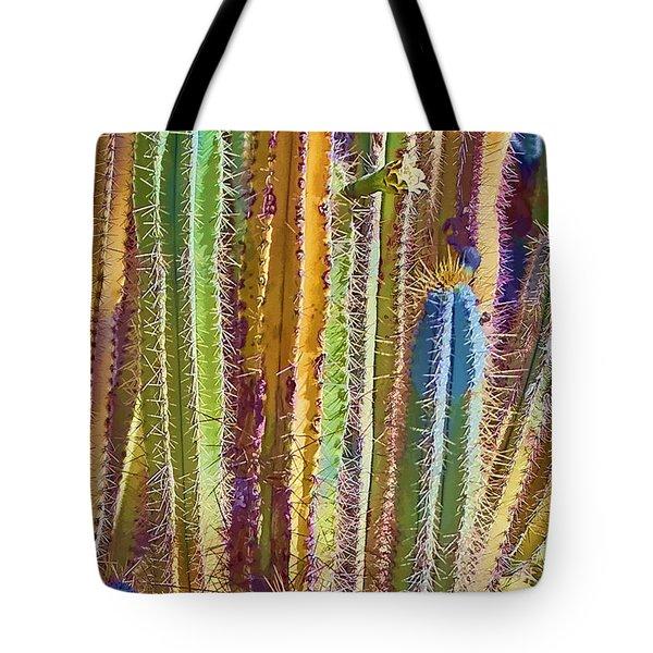 Cactus Tote Bag by Marcia Colelli