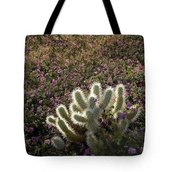 Cactus Surprise Tote Bag