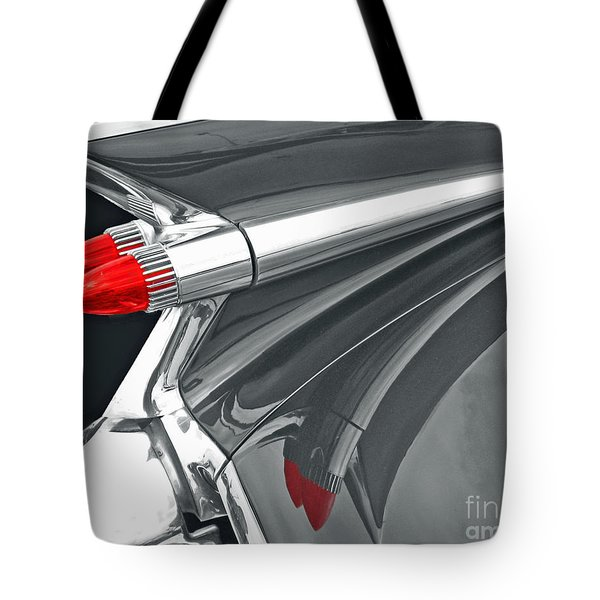 Caddy Classic Black And White Tote Bag