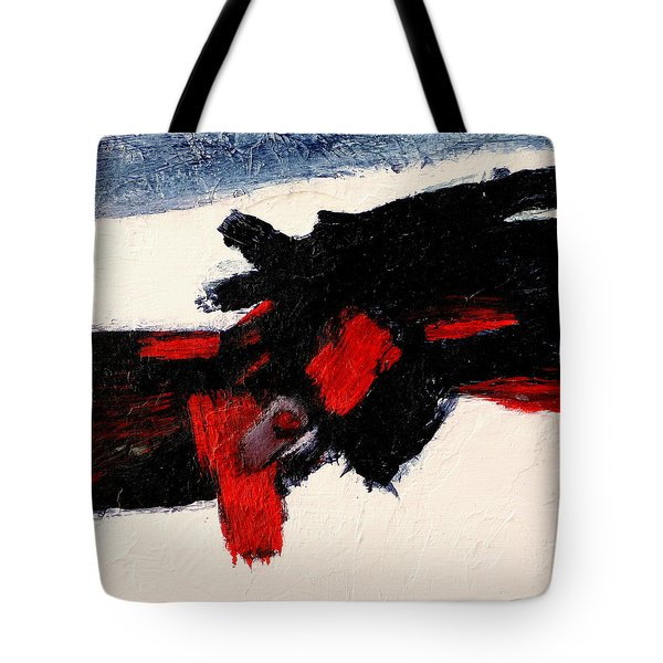 Tote Bag featuring the painting Cadence by Jim Whalen