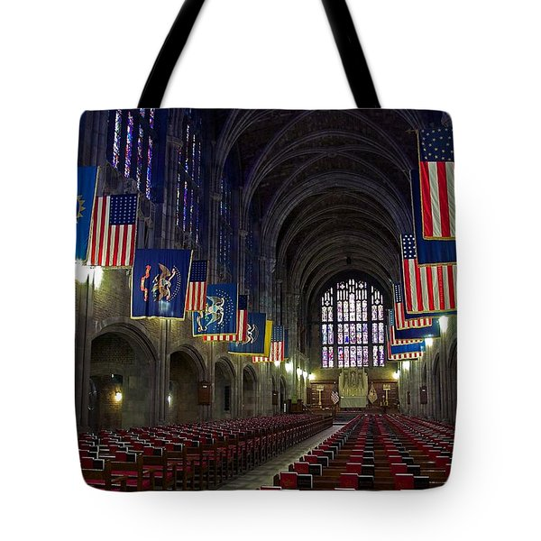 Cadet Chapel At West Point Tote Bag
