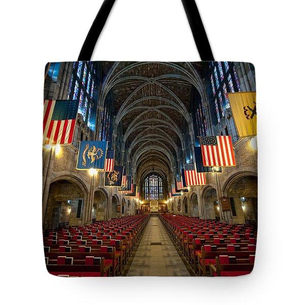 Cadet Chapel Tote Bag