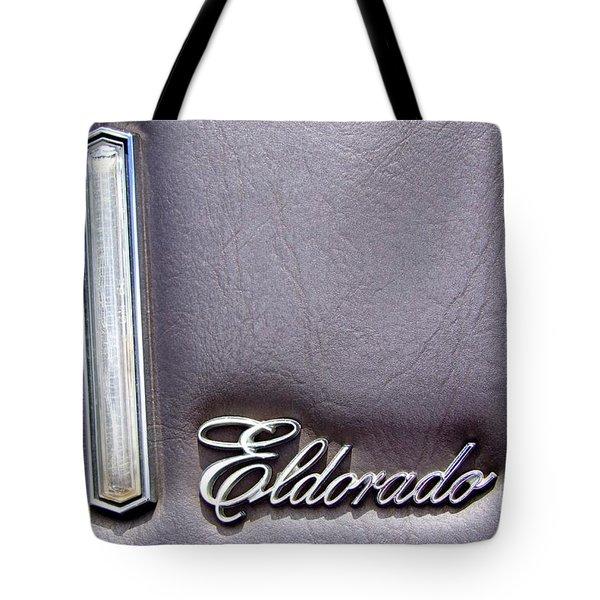 Cadillac El Dorado Emblem Tote Bag