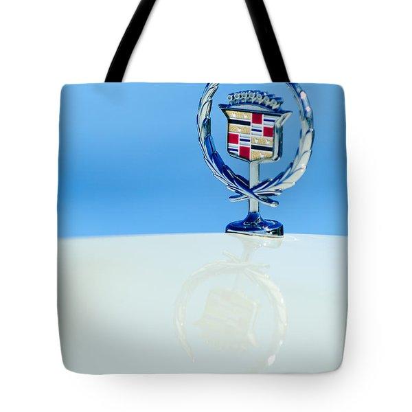 Cadillac Hood Ornament 4 Tote Bag