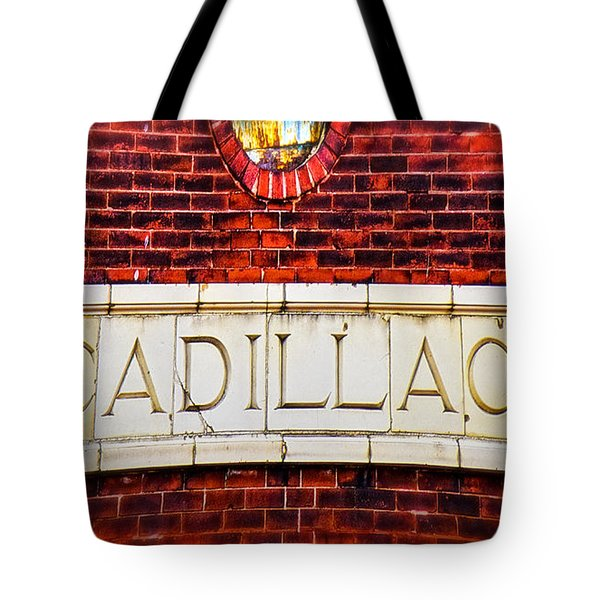 Cadillac Tote Bag by LeeAnn McLaneGoetz McLaneGoetzStudioLLCcom