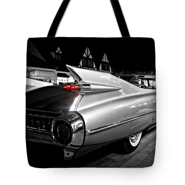 Cadillac Noir Tote Bag