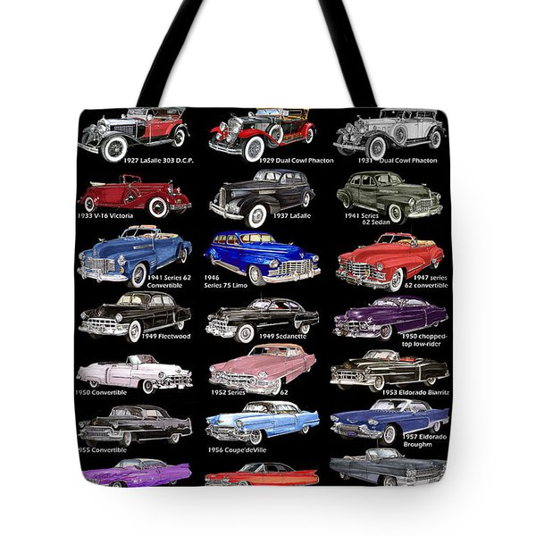 Never Enough Cadillacs  Tote Bag