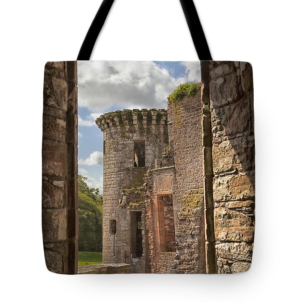 Caerlaverock Castle Tote Bag