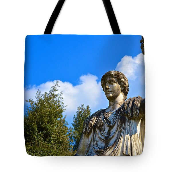 Caesar On Blue Sky Tote Bag