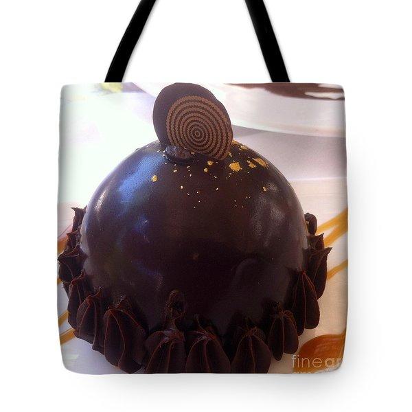 Cafe Au Lait Dessert Tote Bag by Susan Garren