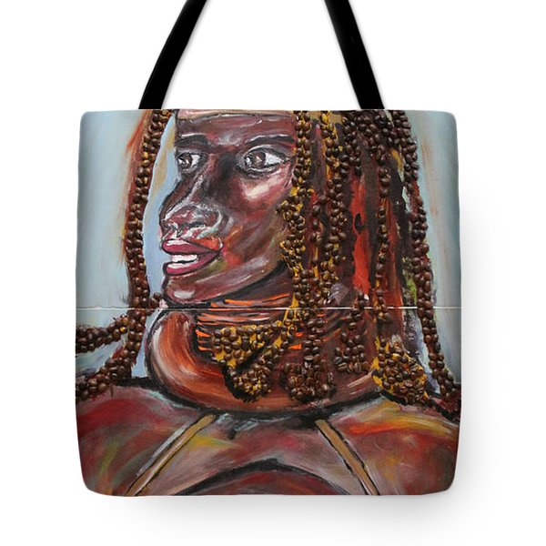 Cafe Au Lait Tote Bag by Lucy Matta