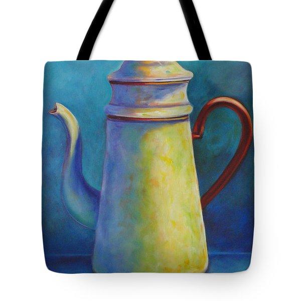 Cafe Au Lait Tote Bag by Shannon Grissom