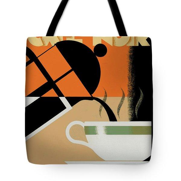 Cafe Noir Tote Bag