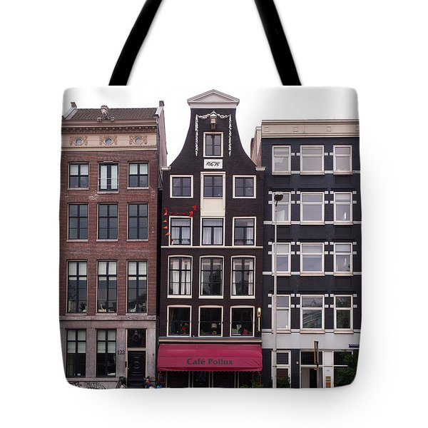 Cafe Pollux Amsterdam Tote Bag