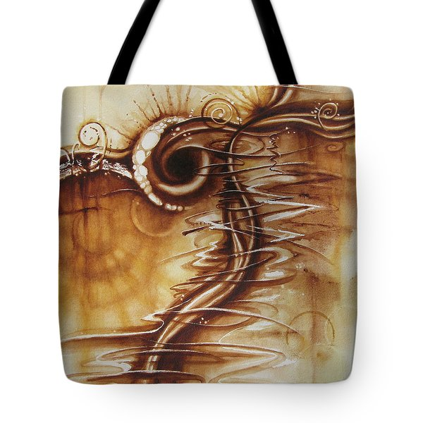Caffeine Tote Bag by Tracy Male